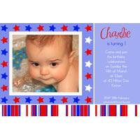 Birthday Invitations and Thank you Photo Cards for Boys BB24
