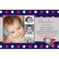 Birthday Invitations and Thank you Photo Cards for Boys BB25