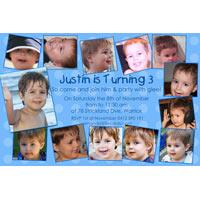 Birthday Invitations and Thank you Photo Cards for Boys BB30-Photo cards, personalised photo cards, photocards, personalised photocards, personalised invitations, photo invitations, personalised photo invitations, invitation cards, invitation photo cards, photo invites, photocard birthday invites, photo card birth invites, personalised photo card birthday invitations, thank-you photo cards,