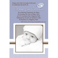 Baptism, Christening and Naming Day Invitations and Thank You Photo Cards for Boys - BC20-Photo cards, personalised photo cards, photocards, personalised photocards, personalised invitations, photo invitations, personalised photo invitations, invitation cards, invitation photo cards, photo invites, photocard birthday invites, photo card birth invites, personalised photo card birthday invitations, thank-you photo cards,