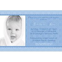 Boy Baptism, Christening and Naming Day Invitations and Thank You Photo Cards BC37-Photo cards, personalised photo cards, photocards, personalised photocards, personalised invitations, photo invitations, personalised photo invitations, invitation cards, invitation photo cards, photo invites, photocard birthday invites, photo card birth invites, personalised photo card birthday invitations, thank-you photo cards,