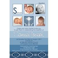 Boy Baptism, Christening and Naming Day Invitations and Thank You Photo Cards BC42-Photo cards, personalised photo cards, photocards, personalised photocards, personalised invitations, photo invitations, personalised photo invitations, invitation cards, invitation photo cards, photo invites, photocard birthday invites, photo card birth invites, personalised photo card birthday invitations, thank-you photo cards,