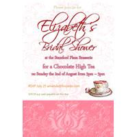 Bridal Shower, Kitchen Tea, Hens Night Photo Invitations BH06-Hens Night Photo Invitations, photo cards, hens night, invitations, photo invitations