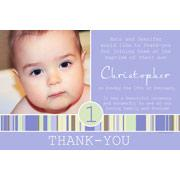 Boy Thank You Photo Cards for Baby, Baptism and Birthday BT05-Photo Cards, Photo invitations, Birth Announcements, Birth Announcement Cards, Christening Photo Invitations, Baptism Photo Invitations, Naming Day Photo Invitaitons, Birthday  Photo Invitations, Pregnancy Announcement Cards,Thankyou Photo Cards