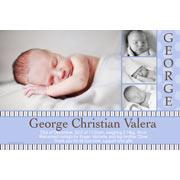 Boy Thank You Photo Cards for Baby, Baptism and Birthday BT09-Photo Cards, Photo invitations, Birth Announcements, Birth Announcement Cards, Christening Photo Invitations, Baptism Photo Invitations, Naming Day Photo Invitaitons, Birthday  Photo Invitations, Pregnancy Announcement Cards,Thankyou Photo Cards