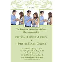 Engagement Photo Invitations and Thank You Photo Cards EI01-engagement invitation, wedding invitation, thank-you, wedding invitations, wedding cards, engagement invitations, wedding thank-you, wedding thank-you cards