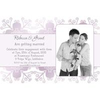 Engagement Photo Invitations and Thank You Photo Cards EI10-engagement invitation, wedding invitation, thank-you, wedding invitations, wedding cards, engagement invitations, wedding thank-you, wedding thank-you cards