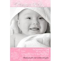 Birth Announcements and Baby Thank You Photo Cards for Girls - GA22