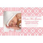 Birth Announcements and Baby Thank You Photo Cards for Girls - GA26