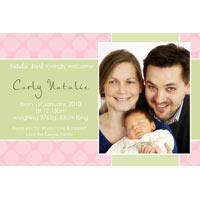 Birth Announcements and Baby Thank You Photo Cards for Girls - GA29