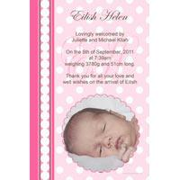 Girl Birth Announcements and Baby Thank You Photo Cards GA39-Photo cards, personalised photo cards, photocards, personalised photocards, baby cards, personalised baby cards, birth announcements, personalised birth announcements, christening invitations, personalised christening invitations, personalised invitations, personalised announcements, invitations, announcements, photo invitations, photo announcements, personalised photo invitations, personalised photo announcements, announcement cards, announcement photo cards, photo christening invitations, photo announcements, birthday invitations, personalised birthday invitations, photo birthday invitations, photocard birth announcements, photo card birth announcements, personalised photo card birth announcement, personalised photo birthday invitation, personalised invites, birth celebrations, personalised celebrations, personalised birth celebrations, baptism invitations, personalised baptism invitations, personalised photo baptism invitations, pregnancy announcements, pregnancy announcement cards,  pregnancy cards, personalised pregnancy announcements, personalised pregnancy announcement cards, personalised pregnancy cards, baby shower invitations, personalised baby shower invitations, engagement invitations, personalised engagement invitations, photo engagement invitations, personalised photo engagement invitations, engagement photo cards, save the date cards, personalised save the date cards, photo save the date cards, wedding thank-you cards, personalised wedding thank-you cards, wedding thank-you photo cards,
