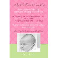Girl Birth Announcements and Baby Thank You Photo Cards GA53-Photo cards, personalised photo cards, photocards, personalised photocards, baby cards, personalised baby cards, birth announcements, personalised birth announcements, christening invitations, personalised christening invitations, personalised invitations, personalised announcements, invitations, announcements, photo invitations, photo announcements, personalised photo invitations, personalised photo announcements, announcement cards, announcement photo cards, photo christening invitations, photo announcements, birthday invitations, personalised birthday invitations, photo birthday invitations, photocard birth announcements, photo card birth announcements, personalised photo card birth announcement, personalised photo birthday invitation, personalised invites, birth celebrations, personalised celebrations, personalised birth celebrations, baptism invitations, personalised baptism invitations, personalised photo baptism invitations, pregnancy announcements, pregnancy announcement cards,  pregnancy cards, personalised pregnancy announcements, personalised pregnancy announcement cards, personalised pregnancy cards, baby shower invitations, personalised baby shower invitations, engagement invitations, personalised engagement invitations, photo engagement invitations, personalised photo engagement invitations, engagement photo cards, save the date cards, personalised save the date cards, photo save the date cards, wedding thank-you cards, personalised wedding thank-you cards, wedding thank-you photo cards,