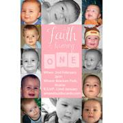 Birthday Invitations and Thank you Photo Cards for Girls - GB02