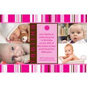 Birthday Invitations and Thank you Photo Cards for Girls - GB13