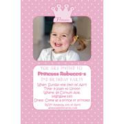 Girl Birthday Invitations and Thank You Photo Cards GB25-Photo cards, personalised photo cards, photocards, personalised photocards, personalised invitations, photo invitations, personalised photo invitations, invitation cards, invitation photo cards, photo invites, photocard birthday invites, photo card birth invites, personalised photo card birthday invitations, thank-you photo cards, princess bithday invitations