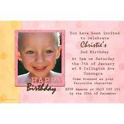 Girl Birthday Invitations and Thank you Photo Cards GB36-Photo cards, personalised photo cards, photocards, personalised photocards, personalised invitations, photo invitations, personalised photo invitations, invitation cards, invitation photo cards, photo invites, photocard birthday invites, photo card birth invites, personalised photo card birthday invitations, thank-you photo cards, scrapbook style birthday photo invitations
