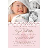 Christening, Baptism and Naming Day Invitations Photo Cards and Thank You Cards for Girls - GC07-Photo cards, personalised photo cards, photocards, personalised photocards, personalised invitations, photo invitations, personalised photo invitations, invitation cards, invitation photo cards, photo invites, photocard birthday invites, photo card birth invites, personalised photo card birthday invitations, thank-you photo cards,