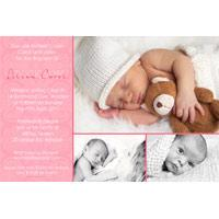 Christening, Baptism and Naming Day Invitations Photo Cards and Thank You Cards for Girls - GC10