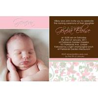 Christening, Baptism and Naming Day Invitations Photo Cards and Thank You Cards for Girls - GC13