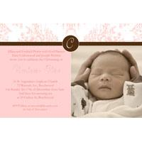 Christening, Baptism and Naming Day Invitations Photo Cards and Thank You Cards for Girls - GC14