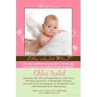 Christening, Baptism and Naming Day Invitations Photo Cards and Thank You Cards for Girls - GC15