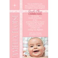 Girl Baptism, Christening and Naming Day Invitations and Thank You Photo Cards GC27-Photo cards, personalised photo cards, photocards, personalised photocards, personalised invitations, photo invitations, personalised photo invitations, invitation cards, invitation photo cards, photo invites, photocard birthday invites, photo card birth invites, personalised photo card birthday invitations, thank-you photo cards,