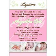 Girl Baptism, Christening and Naming Day Invitations and Thank You Photo Cards GC30-Photo cards, personalised photo cards, photocards, personalised photocards, personalised invitations, photo invitations, personalised photo invitations, invitation cards, invitation photo cards, photo invites, photocard birthday invites, photo card birth invites, personalised photo card birthday invitations, thank-you photo cards,