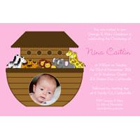Girl Baptism, Christening and Naming Day Invitations and Thank You Photo Cards GC44-