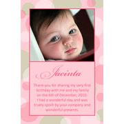 Girl Thank You Photo Cards for Baby, Baptism and Birthday GT04-Photo Cards, Photo invitations, Birth Announcements, Birth Announcement Cards, Christening Photo Invitations, Baptism Photo Invitations, Naming Day Photo Invitaitons, Birthday  Photo Invitations, Pregnancy Announcement Cards,Thankyou Photo Cards
