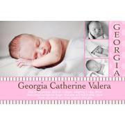 Girl Thank You Photo Cards for Baby, Baptism and Birthday GT09-Photo Cards, Photo invitations, Birth Announcements, Birth Announcement Cards, Christening Photo Invitations, Baptism Photo Invitations, Naming Day Photo Invitaitons, Birthday  Photo Invitations, Pregnancy Announcement Cards,Thankyou Photo Cards