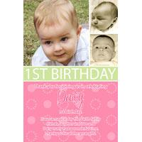 Girl Thank You Photo Cards for Baby, Baptism and Birthday GT11-Photo Cards, Photo invitations, Birth Announcements, Birth Announcement Cards, Christening Photo Invitations, Baptism Photo Invitations, Naming Day Photo Invitaitons, Birthday  Photo Invitations, Pregnancy Announcement Cards,Thankyou Photo Cards