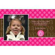 Girl Thank You Photo Cards for Baby, Baptism and Birthday GT14-Photo Cards, Photo invitations, Birth Announcements, Birth Announcement Cards, Christening Photo Invitations, Baptism Photo Invitations, Naming Day Photo Invitaitons, Birthday  Photo Invitations, Pregnancy Announcement Cards,Thankyou Photo Cards