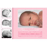 Girl Thank You Photo Cards for Baby, Baptism and Birthday GT27-Photo Cards, Photo invitations, Birth Announcements, Birth Announcement Cards, Christening Photo Invitations, Baptism Photo Invitations, Naming Day Photo Invitaitons, Birthday  Photo Invitations, Pregnancy Announcement Cards,Thankyou Photo Cards