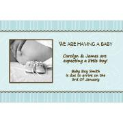Pregnancy Announcements Photo Cards - PA05-Photo cards, pregnancy announcements, pregnancy announcement cards, personalised cards, personalised photo cards, personalised pregnancy announcements