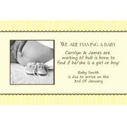 Pregnancy Announcements Photo Cards PA07-Photo cards, pregnancy announcements, pregnancy announcement cards, personalised cards, personalised photo cards, personalised pregnancy announcements