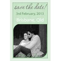 Wedding Save the Date Photo Cards SD03-
