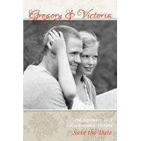 Wedding Save the Date Photo Cards SD04-