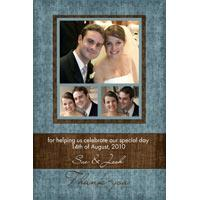 Wedding Thank You Photo Cards WT01-Photo Cards, Photo invitations, Birth Announcements, Birth Announcement Cards, Christening Photo Invitations, Baptism Photo Invitations, Naming Day Photo Invitaitons, Birthday  Photo Invitations, Pregnancy Announcement Cards,Thankyou Photo Cards